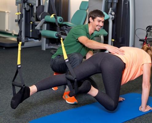 Krankengymnastik und Bewegungsübungen bei Morbus Parkinson
