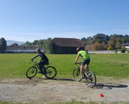 Richtig lenken mit dem Mountainbike